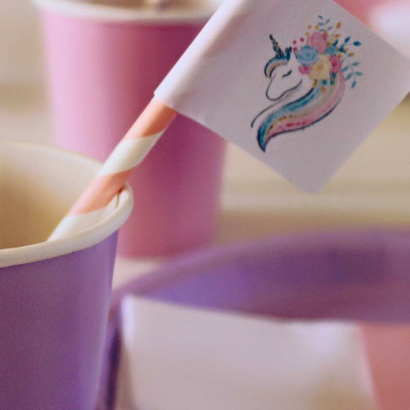 Over The Rainbow Parties Unicorn Theme Package